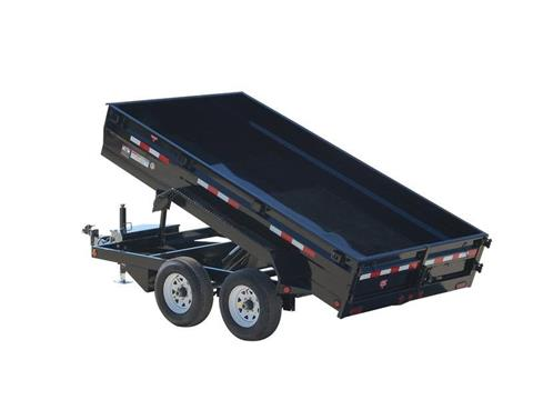 2016 PJ Trailers 78 in. Medium Duty Dump (D2) in Kansas City, Kansas