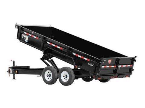 2016 PJ Trailers 83 in. Low Pro XL Dump (DJ) in Kansas City, Kansas