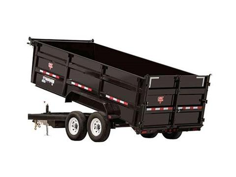 2016 PJ Trailers 83 in. XL High Side Dump (DC) in Kansas City, Kansas