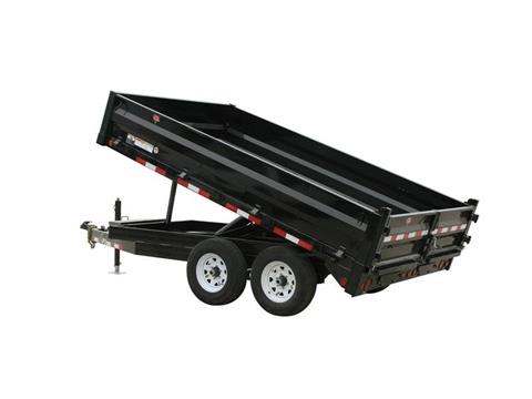 2016 PJ Trailers 84 in. Deckover Dump (DN) in Kansas City, Kansas