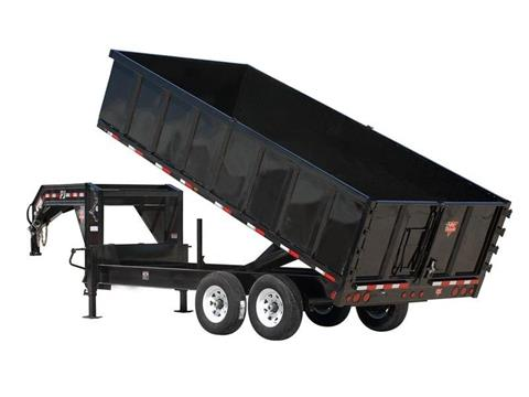 2016 PJ Trailers 91 in. Deckover Dump (DS) in Kansas City, Kansas