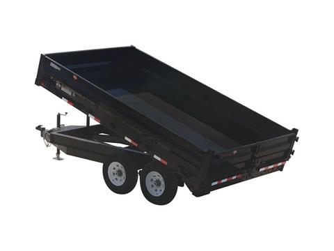2016 PJ Trailers 96 in. Deckover Dump (D8) in Kansas City, Kansas