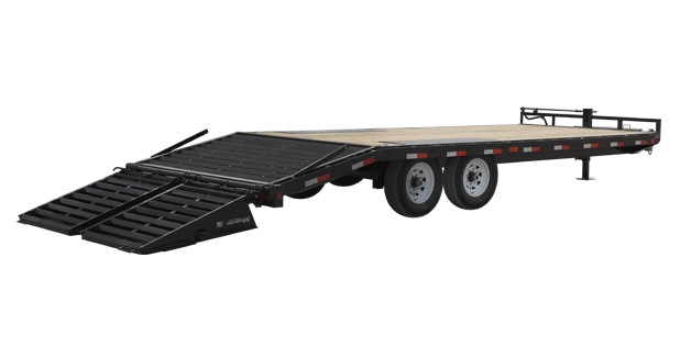 2017 PJ Trailers 8 in. I-Beam Deckover (F8) in Kansas City, Kansas