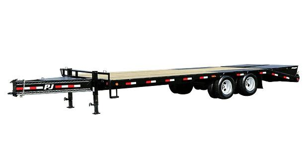 2017 PJ Trailers Low-Pro Flatdeck with Duals (LD) in Kansas City, Kansas