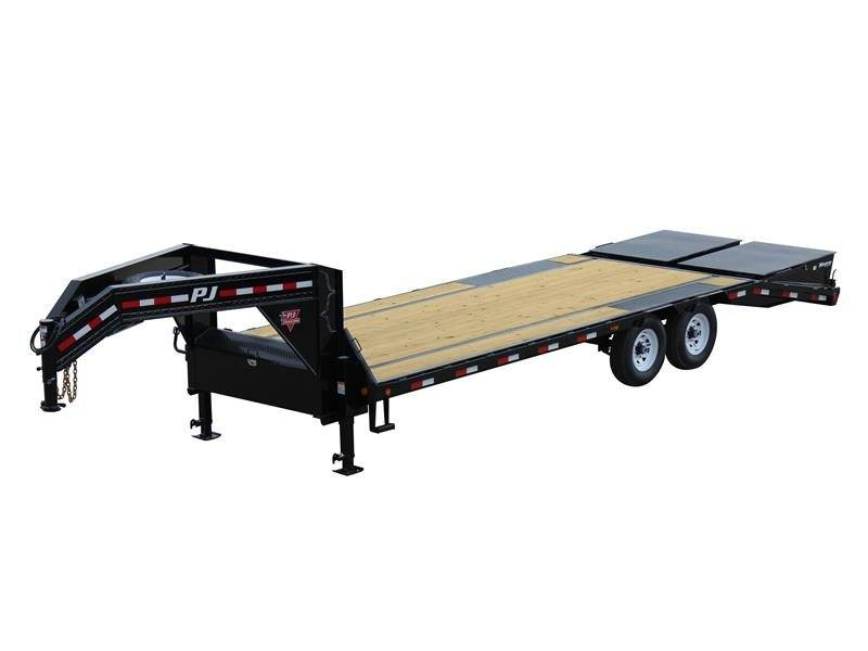 2017 PJ Trailers Low-Pro Flatdeck with Singles (LS) in Kansas City, Kansas