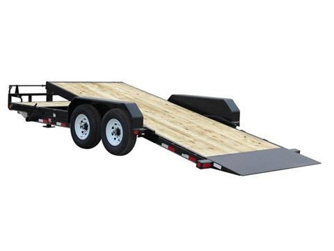 2017 PJ Trailers 6 in. Channel Equipment Tilt (T6) in Kansas City, Kansas