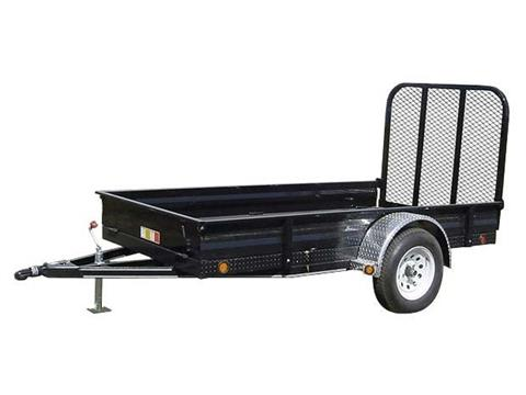 2017 PJ Trailers 60 in. All-Steel Utility (A6) in Kansas City, Kansas