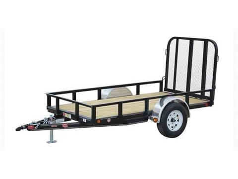 2017 PJ Trailers 60 in. Single Axle Channel Utility (U6) in Kansas City, Kansas