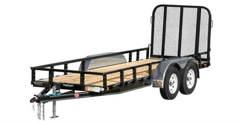 2017 PJ Trailers 60 in. Tandem Axle Channel Utility (UC) in Elk Grove, California