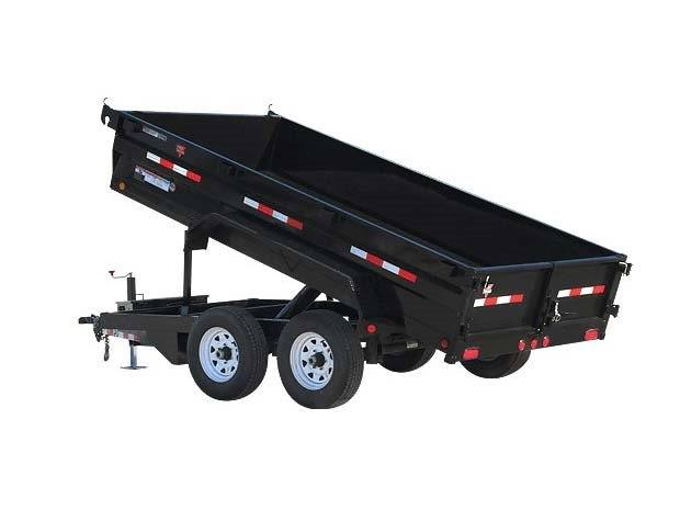 2017 PJ Trailers 72 in. Tandem Axle Dump (D3) in Kansas City, Kansas