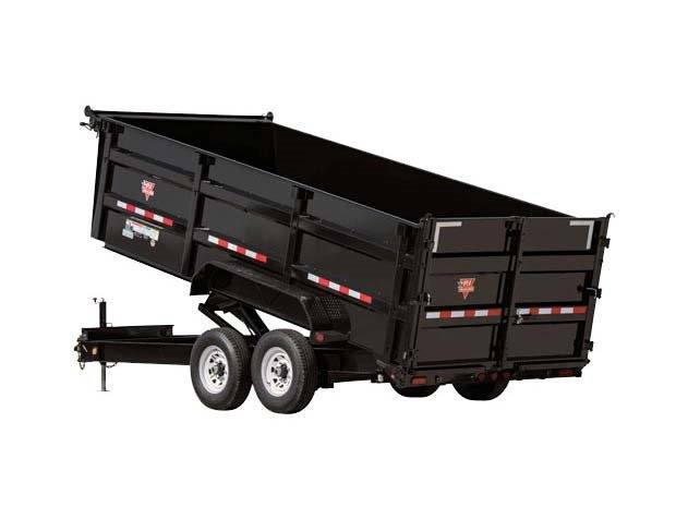 2017 PJ Trailers 83 in. Low Pro XL High Side Dump (DK) in Kansas City, Kansas