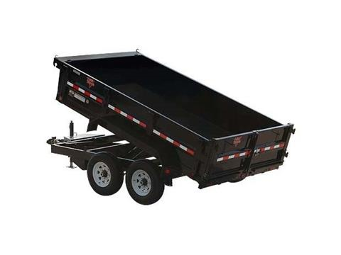 2017 PJ Trailers 83 in. Tandem Axle Dump (D7) in Kansas City, Kansas