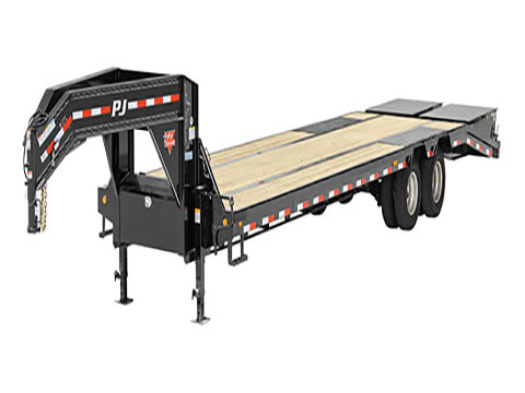2018 PJ Trailers 14 in. I-Beam Low-Pro with Duals (L3) in Saint Johnsbury, Vermont