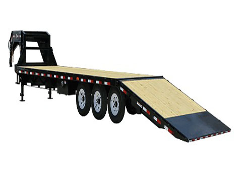 2018 PJ Trailers Flatdeck with Singles Hydraulic Dove (SY) in Hillsboro, Wisconsin