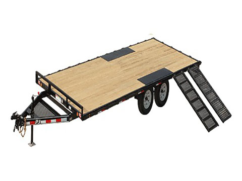 2018 PJ Trailers Light Duty Deckover 5 in. Channel (L5) in Kansas City, Kansas