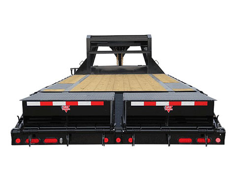2018 PJ Trailers Low-Pro Flatdeck with Singles (LS) in Kansas City, Kansas