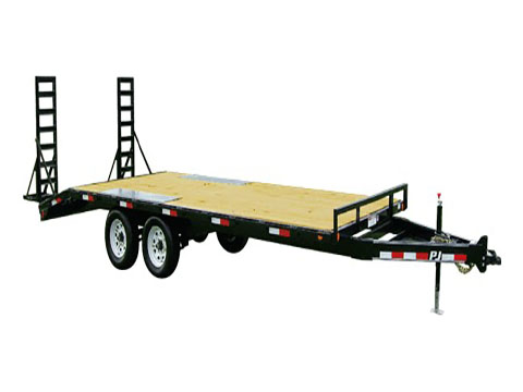 2018 PJ Trailers Medium Duty Deckover 6 in. Channel (L6) in Kansas City, Kansas