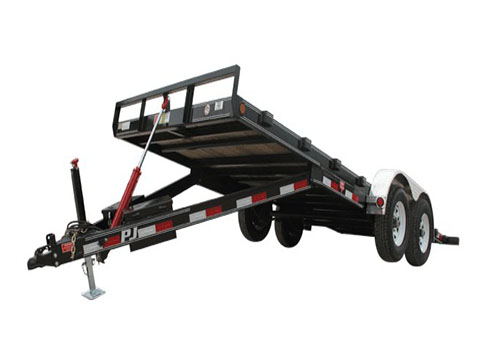 2018 PJ Trailers 83 in. Hydraulic Quick Tilt (TH) in Kansas City, Kansas - Photo 2