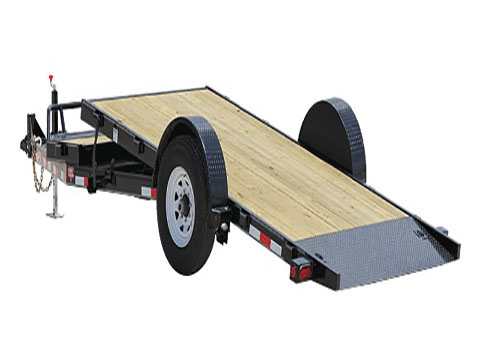 2018 PJ Trailers Single Axle HD Tilt (T1) in Elk Grove, California