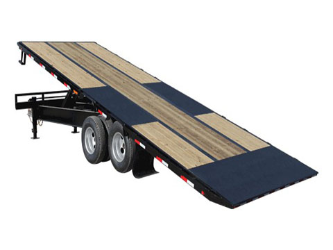 2018 PJ Trailers Tandem Dual Tilt (TD) in Elk Grove, California