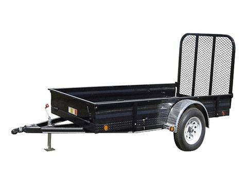 2018 PJ Trailers 60 in. All-Steel Utility (A6) in Kansas City, Kansas