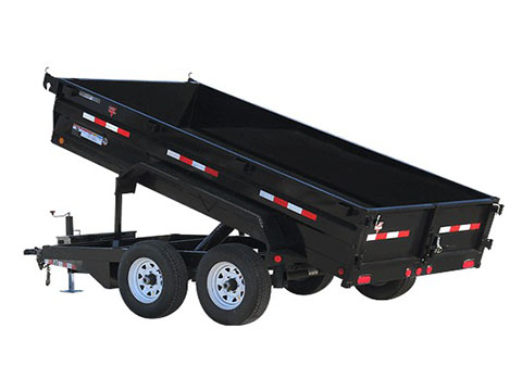 2018 PJ Trailers 72 in. Tandem Axle Dump (D3) in Paso Robles, California