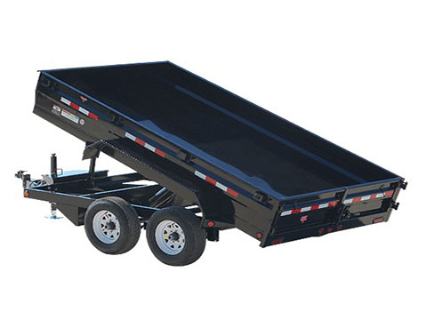 2018 PJ Trailers 78 in. Medium Duty Dump (D2) in Hillsboro, Wisconsin