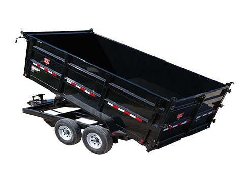 2018 PJ Trailers 83 in. High Side Dump (DH) in Hillsboro, Wisconsin