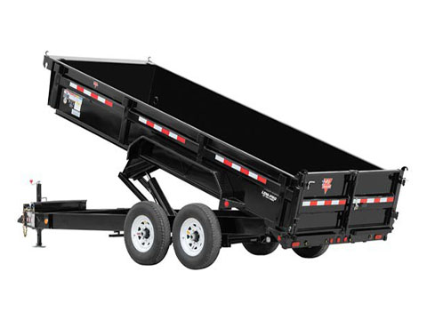 2018 PJ Trailers 83 in. Low Pro XL Dump (DJ) in Hillsboro, Wisconsin