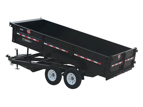 2018 PJ Trailers 83 in. XL Dump (D9) in Hillsboro, Wisconsin