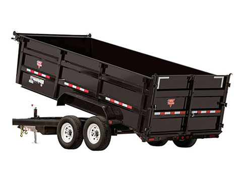 2018 PJ Trailers 83 in. XL High Side Dump (DC) in Hillsboro, Wisconsin