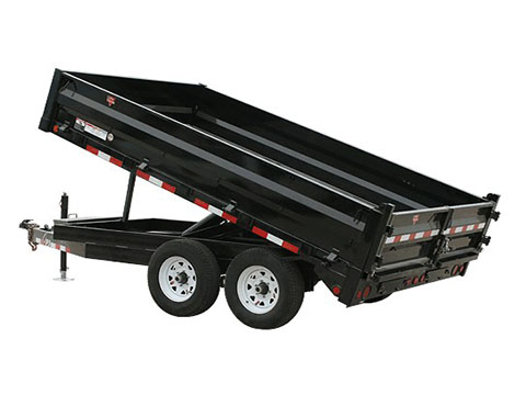 2018 PJ Trailers 84 in. Deckover Dump (DN) in Hillsboro, Wisconsin
