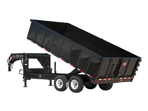 2018 PJ Trailers 91 in. Deckover Dump (DS) in Hillsboro, Wisconsin
