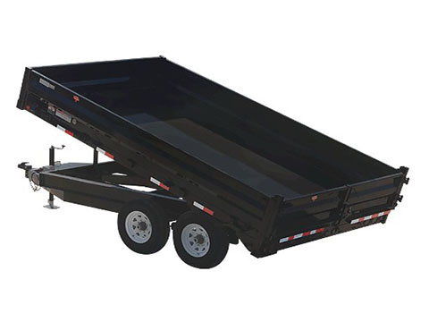 2018 PJ Trailers 96 in. Deckover Dump (D8) in Acampo, California