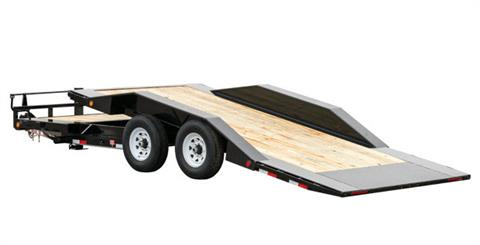 2019 PJ Trailers 6 in. Channel Super-Wide Tilt (TS) 18 ft. in Hillsboro, Wisconsin