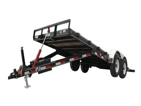 2019 PJ Trailers 83 in. Hydraulic Quick Tilt (TH) 16 ft. in Hillsboro, Wisconsin - Photo 2