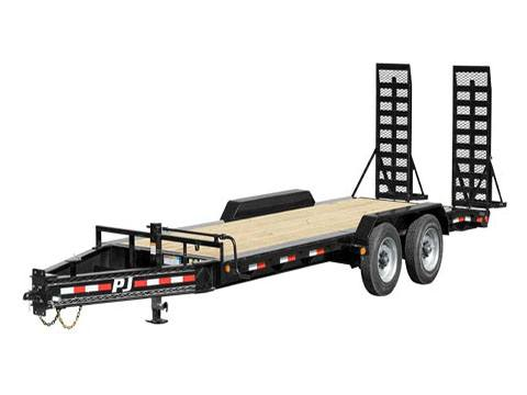 2019 PJ Trailers 10 in. Pro-Beam Equipment (H5) 20 ft. in Hillsboro, Wisconsin