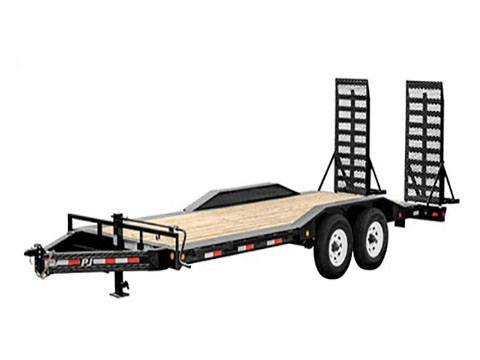 2019 PJ Trailers 8 In Pro Beam Super Wide Equipment H6