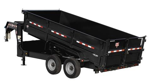 2019 PJ Trailers HD Low-Pro Dump (DE) 16 ft. in Kansas City, Kansas