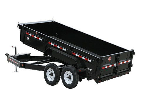 2019 PJ Trailers 83 in. Low-Pro Dump (DL) 12 ft. in Hillsboro, Wisconsin
