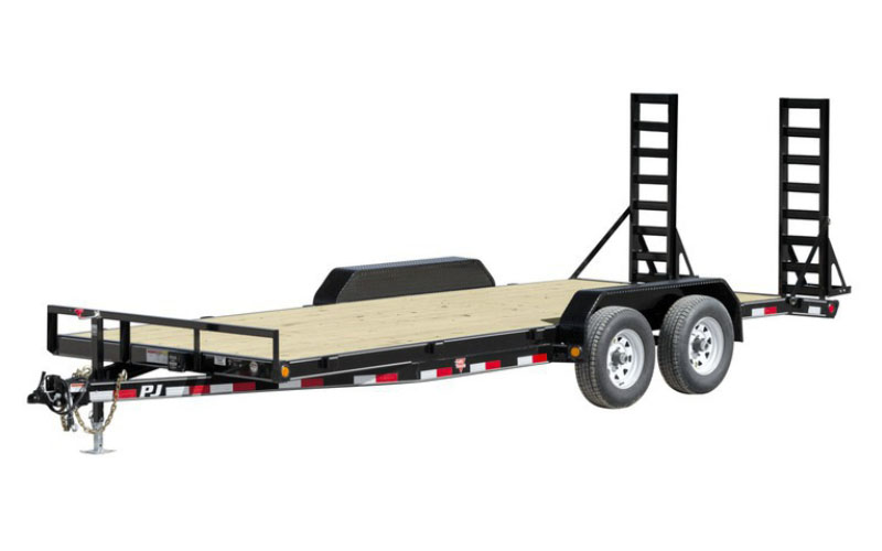 2020 PJ Trailers 5 in. Channel Equipment (CE) 20 ft. in Hillsboro, Wisconsin