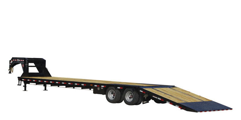 2020 PJ Trailers Low-Pro with Hydraulic Dove (LY) 38 ft. in Kansas City, Kansas