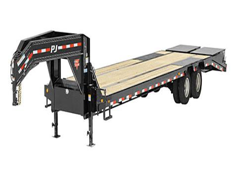 2019 PJ Trailers 14 in. I-Beam Low-Pro with Duals (L3) 32 ft. in Hillsboro, Wisconsin