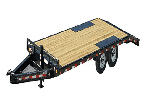 2019 PJ Trailers 8 in. I-Beam Deckover (F8) - 24 ft. in Kansas City, Kansas - Photo 1