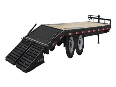 2019 PJ Trailers 8 in. I-Beam Deckover (F8) - 24 ft. in Kansas City, Kansas - Photo 2