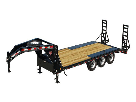 2019 PJ Trailers 8 in. I-Beam Deckover (F8) - 28 ft. in Kansas City, Kansas