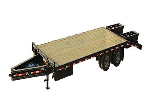 2020 PJ Trailers Classic Flatdeck with Duals (FD) 20 ft. in Kansas City, Kansas