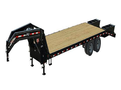 2019 PJ Trailers Classic Flatdeck with Duals (FD) 22 ft. in Kansas City, Kansas