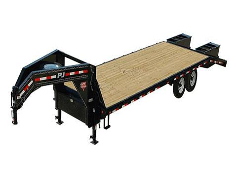 2020 PJ Trailers Classic Flatdeck with Singles (FS) 28 ft. in Acampo, California