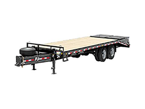 2019 PJ Trailers Classic Pintle with Duals (PD) 25 ft. in Kansas City, Kansas